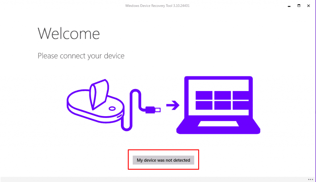 Windows Device Recovery Tool repair 1024x592 - Guide To Update Flash Microsoft Lumia and Nokia Lumia devices