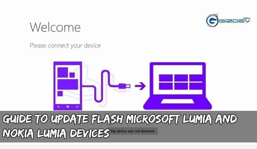 update flash nokia lumia - Guide To Update Flash Microsoft Lumia and Nokia Lumia devices